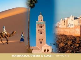 Marrakech, Desert and the Coast